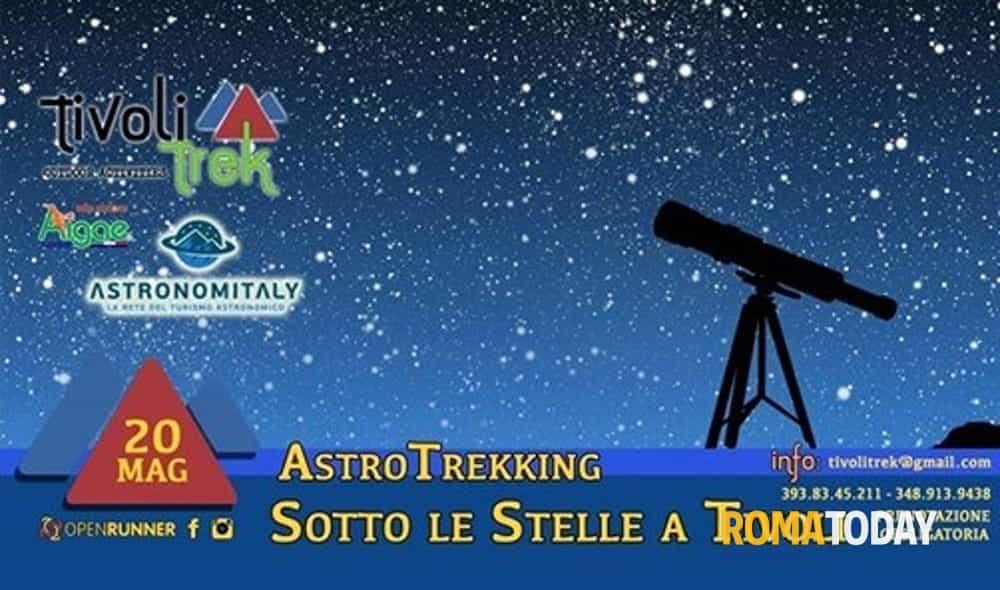 astrotrekking sotto le stelle a tivoli